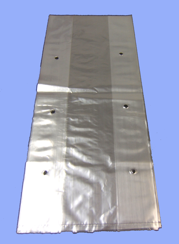 "8320 - 8"" X 3"" X 20"" .8 MIL HOLE VENTED PRODUCE BAGS"