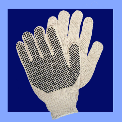 9658M - PVC DOT GLOVES