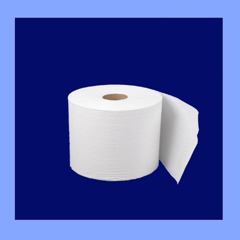 "BAW314 - 8"" X 800' WHITE ROLL TOWELS"