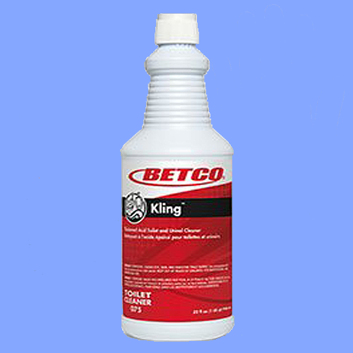 BET07512 - KLING<sup>®</sup> TOILET BOWL CLEANER 9% HYDROCHLORIC ACID (HCL)