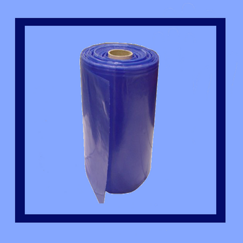 "BS2239B - 22"" X 39"" 1.5 MIL BLUE METALLOCENE POLY ICE BAGS"