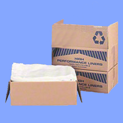 "CHD62XC - 38"" X 58"" CLEAR .7 MIL 60 GALLON TRASH CAN LINERS"