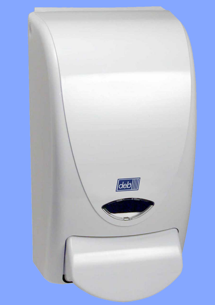 DEB001 - PROLINE<sup>®</sup> WHITE FOAMING HAND SOAP DISPENSER