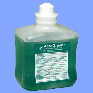 DEB011 - AEROGREEN<sup>™</sup> ANTIBACTERIAL FOAMING LOTION SOAP