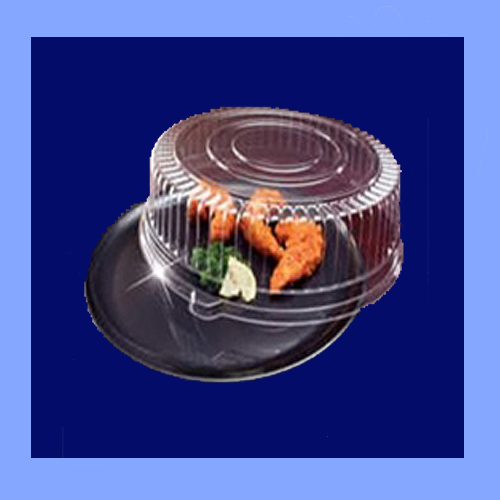 "EMI-220CPB - 12"" ROUND TRAY AND DOME LID COMBO PACKS"
