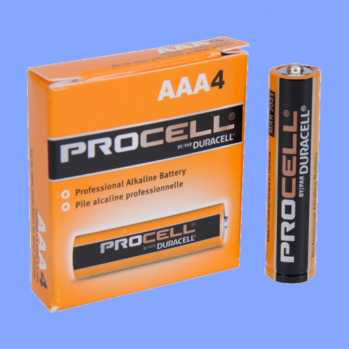 EVR016 - AAA SIZE BATTERIES