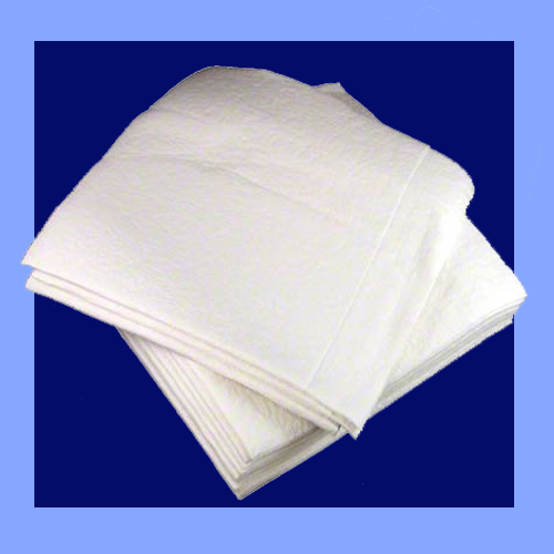F1000WBC - WHITE BONDED CELLULOSE TOWELS / WIPERS