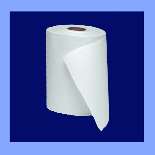 "F28000 - 7 7/8"" X 350' 2 PLY WHITE ROLL TOWELS"
