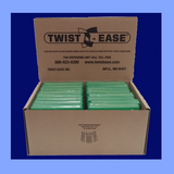 "FTE4-G - GREEN 4"" TWIST EASE TIES"