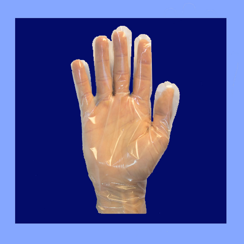 GDCP-XL - CLEAR DISPOSABLE GLOVES