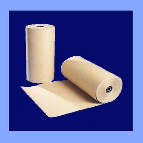 "IK2430 - 24"" X 1,200' 30# BROWN KRAFT PAPER ROLL"
