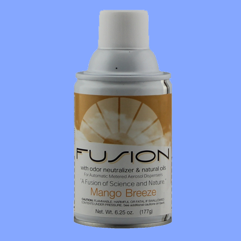MA12-MG - MANGO BREEZE FUSION METERED AEROSOL ROOM DEODORIZER