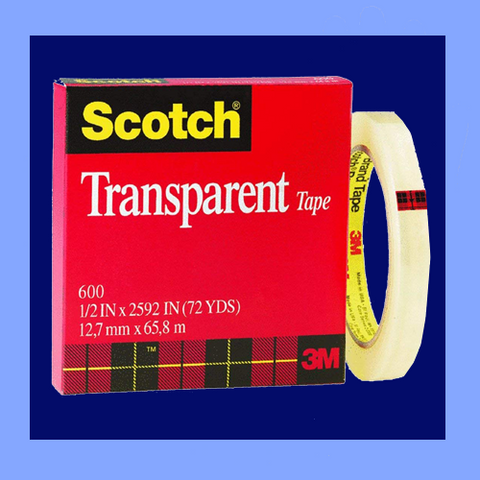 "MMM162 - 1/2"" X 216' SCOTCH<sup>®</sup> TAPE REFILLS FOR DESKTOP DISPENSERS"