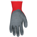 N9680M - MEDIUM NINJA FLEX RED NYLON / GRAY LATEX GLOVES