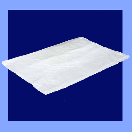 "P10G084018 - 8"" X 4"" X 18"" 1 MIL CLEAR SIDE GUSSET FLAT PACKED BAGS"