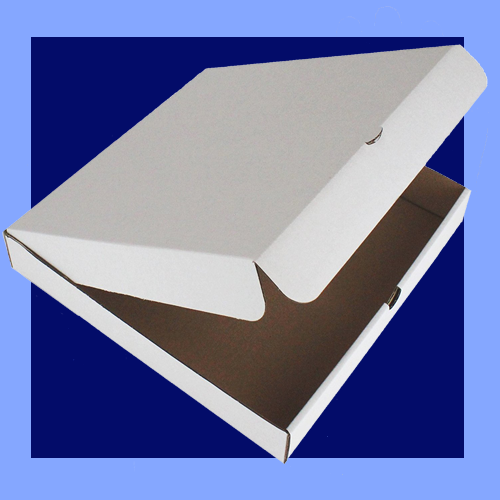 "BS- PBOX112 - 12"" WHITE PIZZA BOXES"