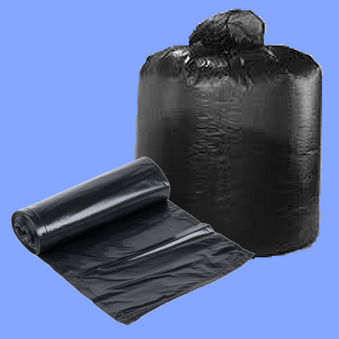 "TGG58XXH - 38"" X 58"" 1.8 MIL 60 GALLON BLACK CAN LINERS"