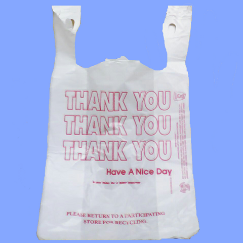 "THW1A - 11.5"" X 6.5"" X 21"" ""THANK YOU"" BAG"