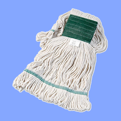 UNS502WH - MEDIUM LOOPED MOP HEAD