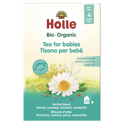 Holle Organic Fennel Baby Tea 30g - 4 Months+