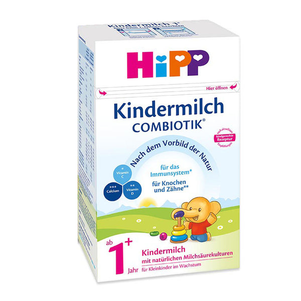 HiPP Germany 1+ Years Combiotic Children's Milk Formula 600g (Kindermilch)