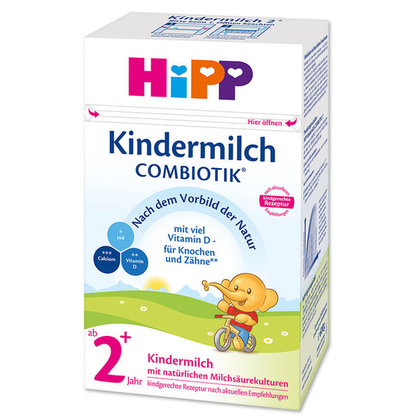 HiPP Germany 2+ Years Combiotic Children's Milk Formula 600g (Kindermilch)