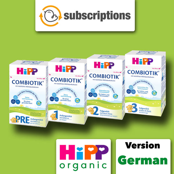 HiPP Germany Organic Baby Formula Subscription Service