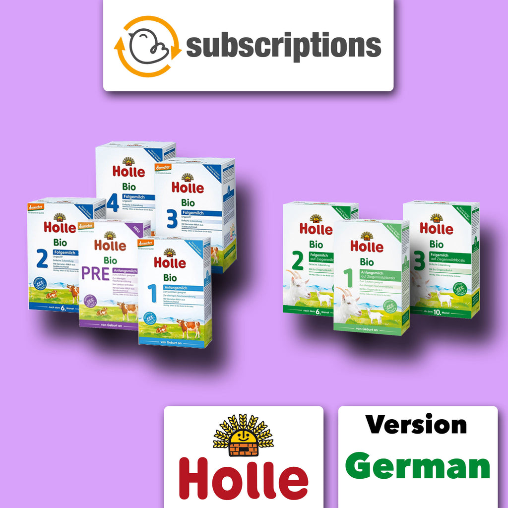 Holle Organic Baby Formula Subscription Service