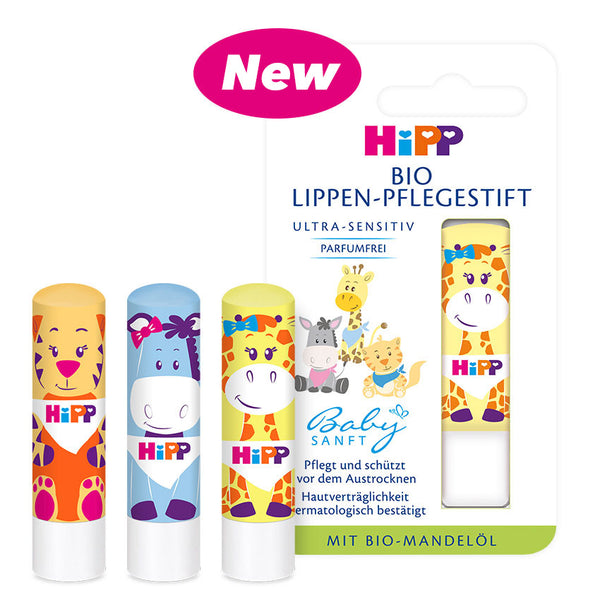 HiPP Organic Sensitive Lip Care Balm Stick (1x Pack)