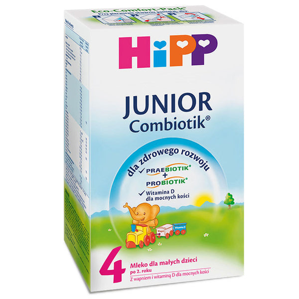 HiPP Junior Combiotic Stage 4 Organic Formula Milk 600g - 2 Years+