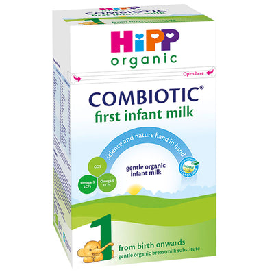 HiPP UK Stage 1 Organic Combiotic First Infant Milk Formula 800g - 0 Months+