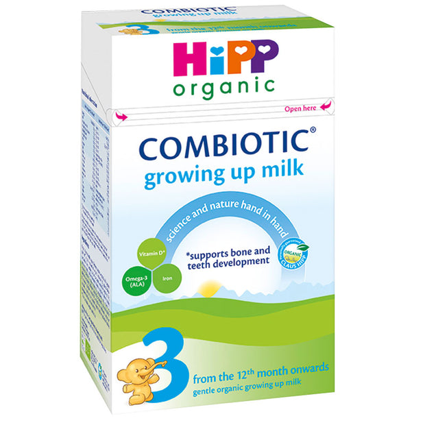 HiPP UK Stage 3 Organic Combiotic Growing Up Milk Formula 600g - 12 Months+
