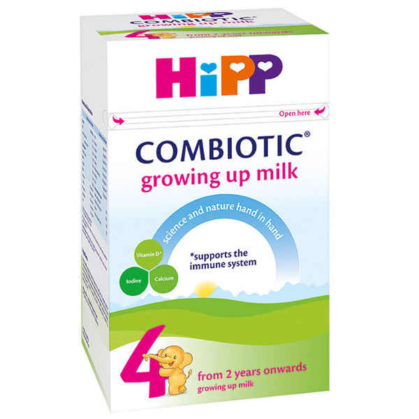 HiPP UK Stage 4 Combiotic Growing Up Milk Formula 600g - 2 Years+
