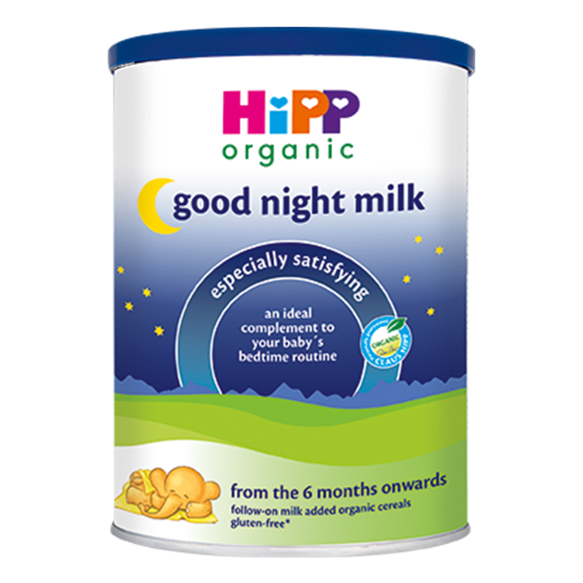 HiPP UK Good Night Baby Milk Organic Formula 350g - 6 Months+