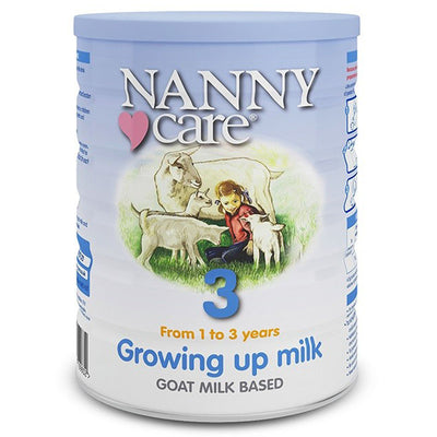 NANNY Care Stage 3 Growing Up Goat Milk Formula (900g)