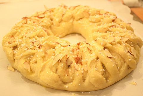 almond wreath