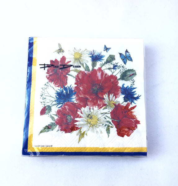 Swedish Flower napkins
