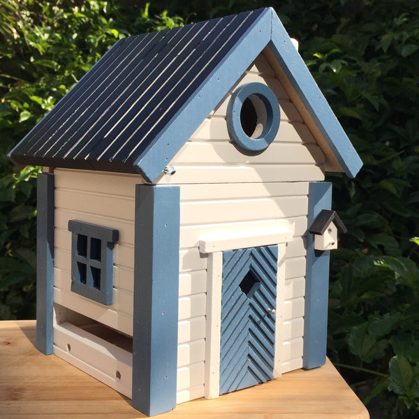 Birdhouse and Feeder, Coastal