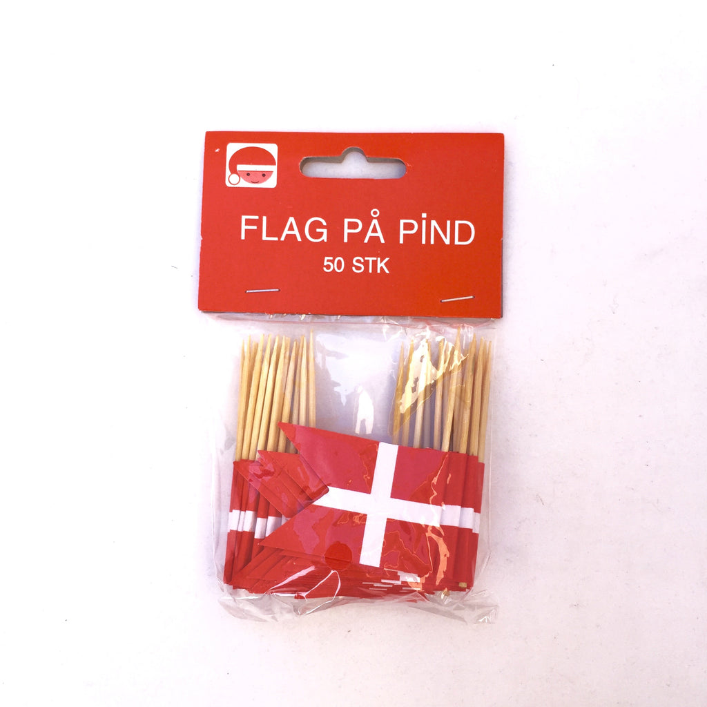 Danish Flag Toothpicks