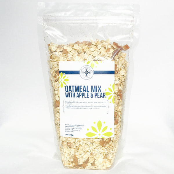 Oatmeal Mix with apples and pears, by Swedish Sweets and More