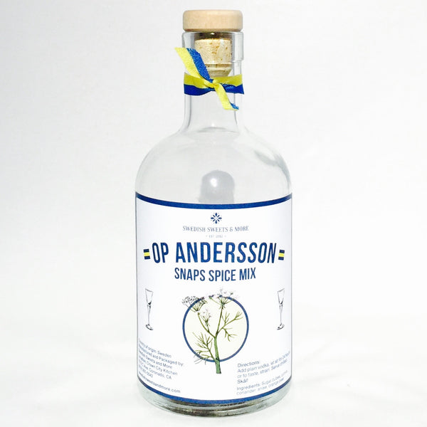 O.P Andersson snaps mix by Swedish Sweets and More