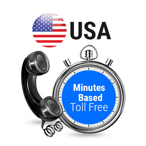 USA Toll Free Minutes Based Plans