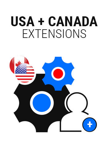 USA + Canada unlimited Additional Extension
