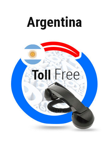 Argentina 822 Toll Free