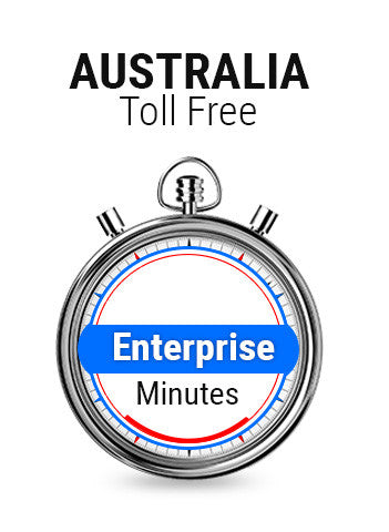 Australia Toll Free Enterprise Plan