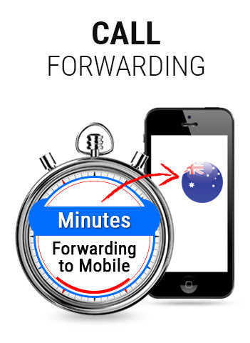 Australia Toll Free with Call forwarding on Mobile
