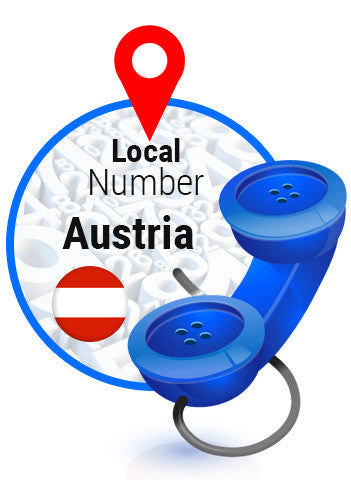 Austria Local Number