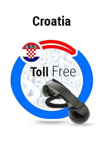 Croatia - Mobile Toll Free