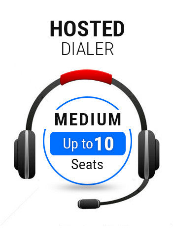 Hosted Dialer Medium Plan