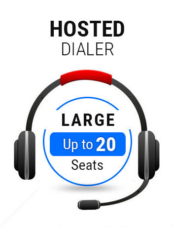 Hosted Dialer Large Plan